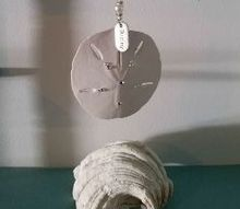 sparkling sand dollar, crafts, how to, repurposing upcycling