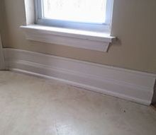 diy 20 baseboard upgrade, wall decor, woodworking projects