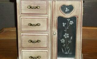 just a little old jewelry cabinet, crafts, how to