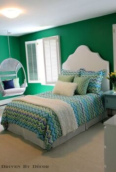 tween girl room makeover, bedroom ideas, painting, wall decor