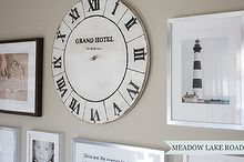 diy vintage clock face, diy, how to, wall decor