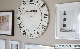 diy vintage clock face, diy, how to, wall decor