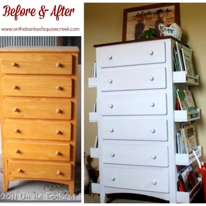 DIY Bookshelf Dresser Hometalk