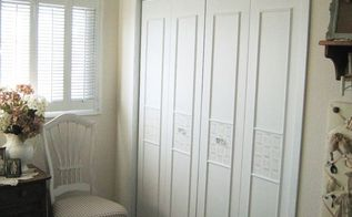 bi fold closet door makeover, closet, doors, how to, painting