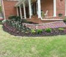 q flower garden border, container gardening, flowers, gardening, landscape, perennial