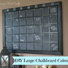 diy large chalkboard, chalkboard paint, crafts, how to, wall decor