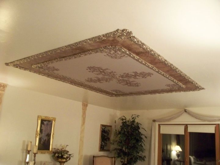Prime Create A Massively Beautiful Ceiling With Paint And Stencils Inspirational Interior Design Netriciaus