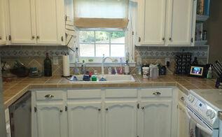 birmingham diy home makeover part two, countertops, kitchen backsplash, kitchen design, The kitchen prior to renovation