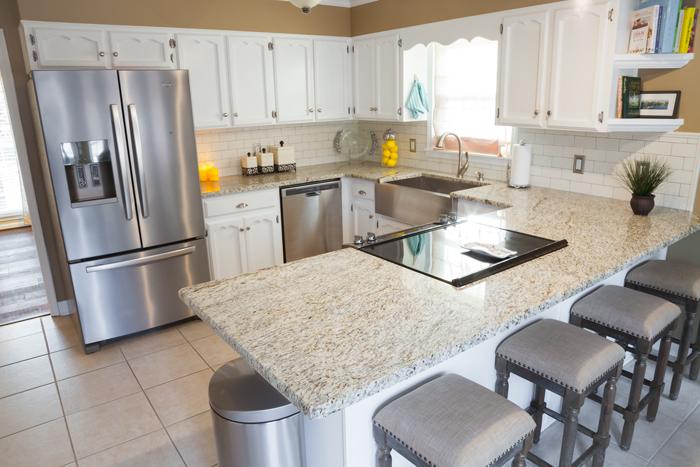 White Kitchen Makeover Hometalk