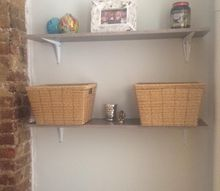 hanging shelves a small room storage necessity, how to, shelving ideas, storage ideas, wall decor