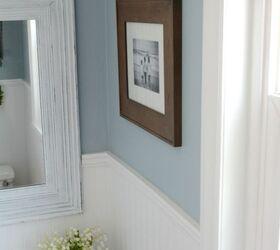 Budget Powder Room Makeover Bathroom Ideas Small Bathroom Ideas Wall Decor Small Bathroom Wall Decor