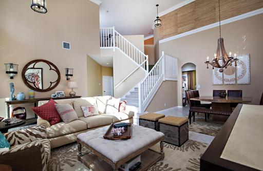 Vast open space what to do about high ceilings hometalk for Living room ideas high ceilings