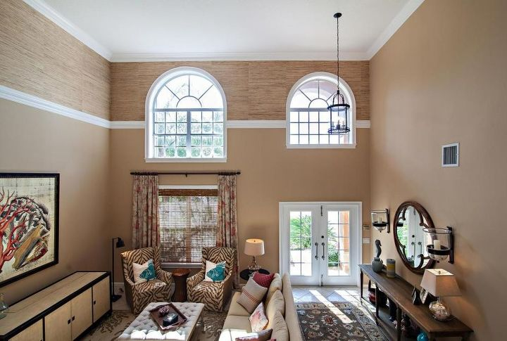 Vast Open Space What To Do About High Ceilings Living Room Ideas Paint Colors