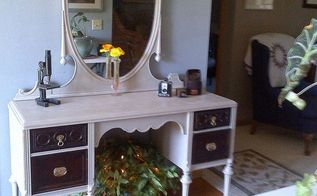 new life to an old vanity, painted furniture