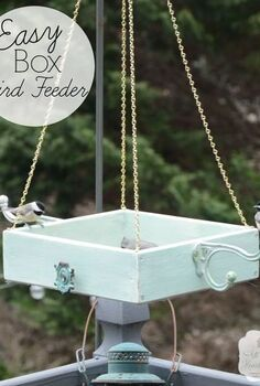 easy platform bird feeder, crafts, gardening, pets animals, woodworking projects