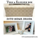 use a kleenex box for home decor, crafts, how to, repurposing upcycling