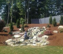 pondless waterfall longmeadow ma, ponds water features