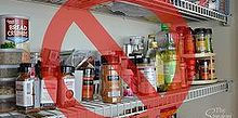 diy 1 spice racks, closet, organizing, repurposing upcycling, shelving ideas, storage ideas