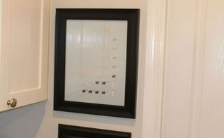 keep all your pictures on the level, wall decor