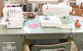 repurposed sewing fabric storage, craft rooms, crafts, organizing, repurposing upcycling, storage ideas