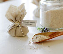 homemade oatmeal lavender bath soak, bathroom ideas, crafts, how to, repurposing upcycling