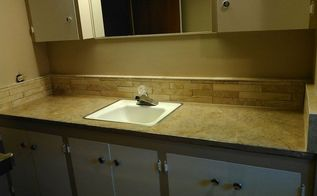 updating the outdated bathroom vanity, bathroom ideas, diy, how to