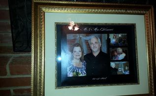 finding a new use for an old yard sale picture frame find, crafts, repurposing upcycling