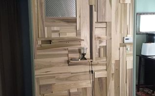 poplar living room wall, wall decor, woodworking projects