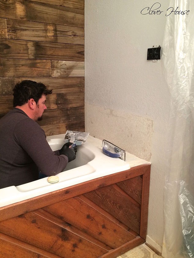Repairing drywall and adding texture with a secret tool hometalk What sheetrock to use in bathroom