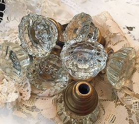 vintage door knobs to crafts how to repurposing upcycling - Vintage Door Knobs
