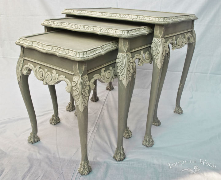 French Style Shabby Chic Nest Of Tables No 22 Hometalk