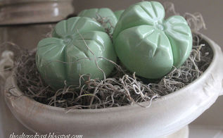 faux jadeite shamrocks for st patrick s day, crafts, repurposing upcycling, seasonal holiday decor