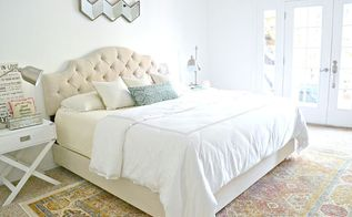 chic master bedroom makeover update, bedroom ideas, shabby chic