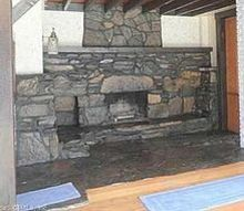 q hideous fireplace, fireplaces mantels, home improvement, how to