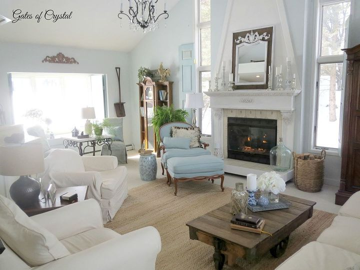 French Country Family Room Hometalk
