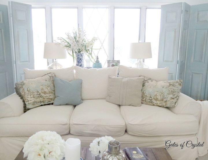 Our French Country Family Room Living Room Ideas