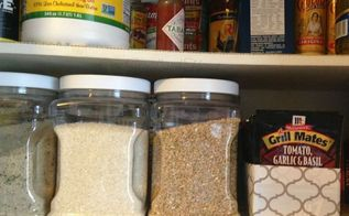 pantry organizer from a ziplock box, closet, organizing, repurposing upcycling, storage ideas