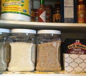 pantry organizer from a ziplock box closet organizing repurposing upcycling storage ideas