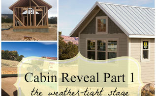 cabin reveal part 1