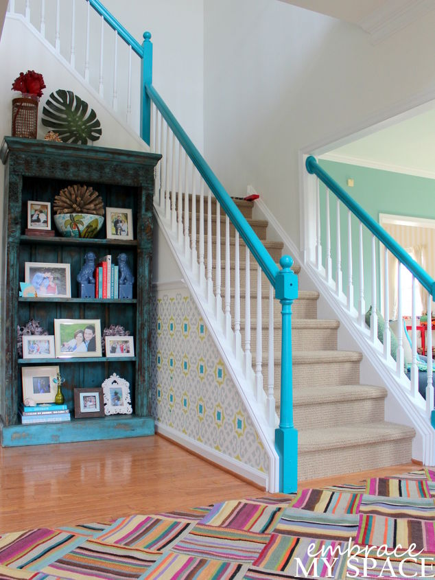 Amazing Foyer Transformation Hometalk