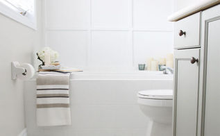 before after a sophisticated bathroom makeover, bathroom ideas, home improvement