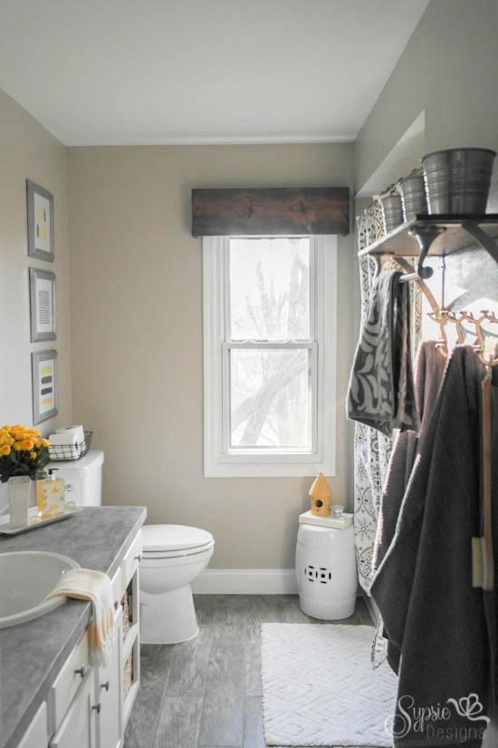 Diy Wood Valance Bathroom Ideas How To Window Treatments Windows Woodworking
