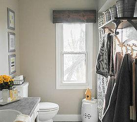 Diy Wood Valance, Bathroom Ideas, How To, Window Treatments, Windows,  Woodworking