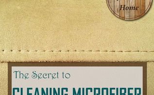 the secret to cleaning microfiber, cleaning tips, go green