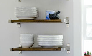 diy open shelving ikea hack, how to, shelving ideas