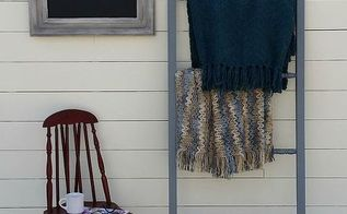 diy blanket ladder using repurposed crib spindles, diy, home decor, how to, repurposing upcycling