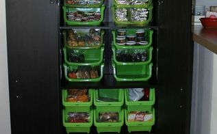 organized snack cabinet, kitchen cabinets, kitchen design, organizing, storage ideas