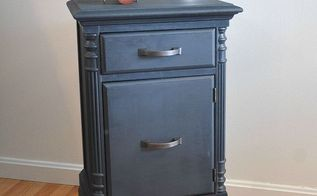 nightstand makeover using milk paint, painted furniture, painting, repurposing upcycling, MMS Milk Paint in Artissimo