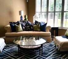 seek peek, living room ideas, reupholster
