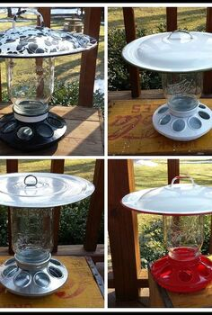 mason jar bird feeder, how to, mason jars, outdoor living, pets animals, repurposing upcycling
